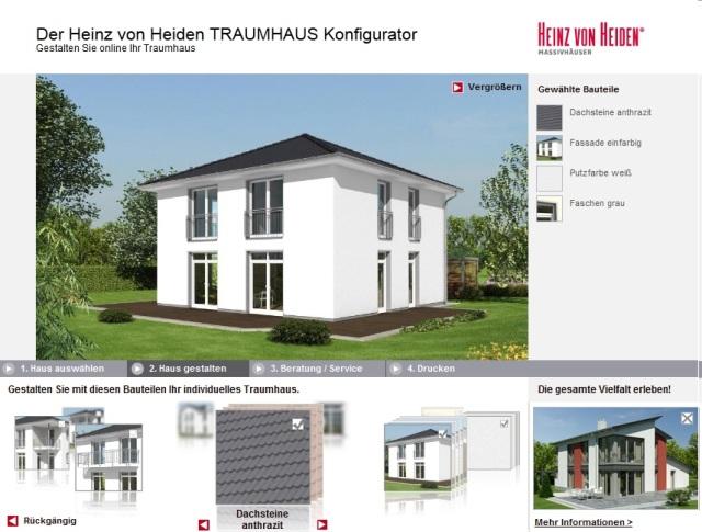 Heinz von Heiden Traumhauskonfigurator