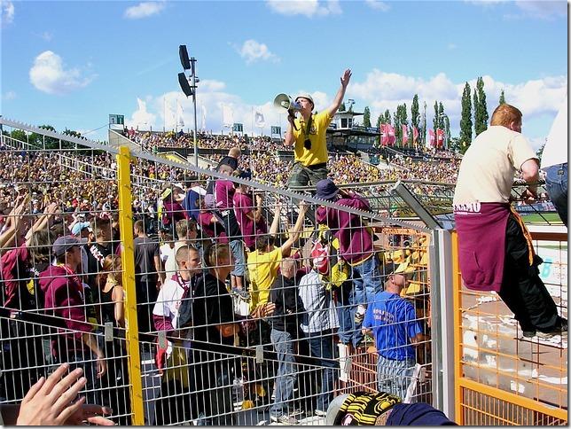 Fußball Fans Dresden