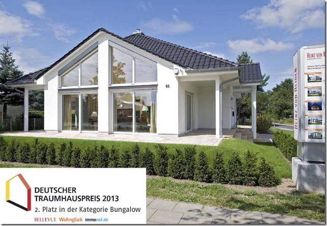 Heinz von Heiden Landkreis Oberhavel  Musterhaus Oranienburg_Aussen_Front_Traumhauspreis