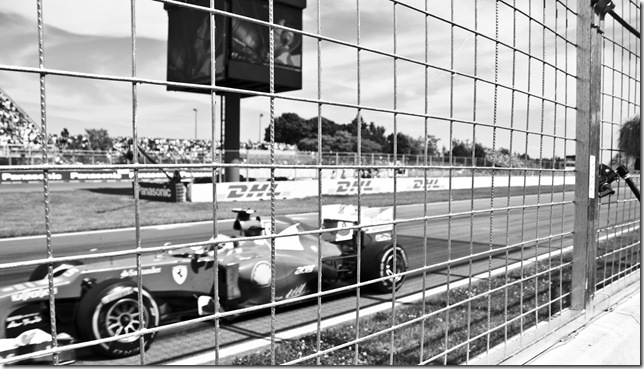 Formel 1 Fahrzeug
