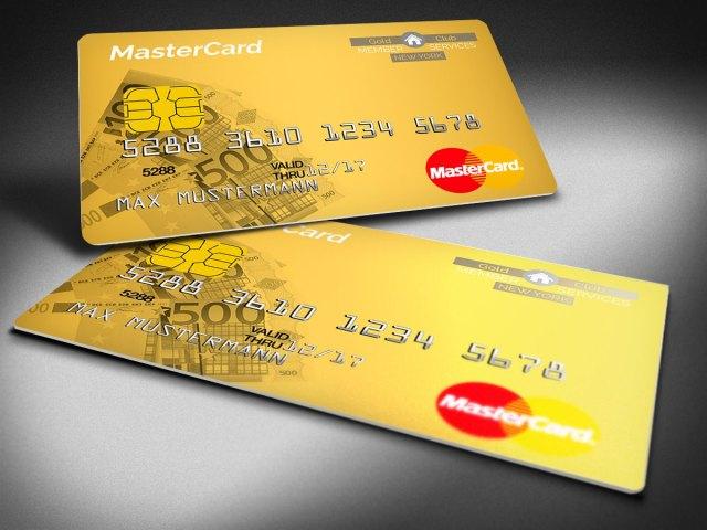 MasterCredit Prepaid Premium MasterCard Gold